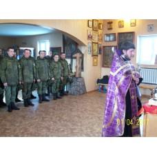 1 апреля 2017. Ковчег с мощами святых в Смолино.