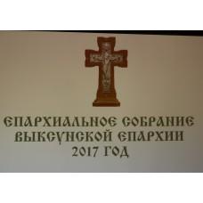3 апреля 2017. V Епархиальное собрание духовенства и мирян. Мероприятие возглавил епископ Варнава.