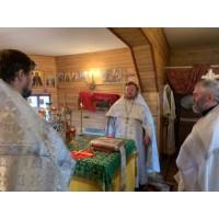 2 июня 2020. Мулино. Священники в воинских частях.