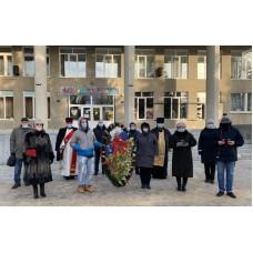 3 декабря 2020. Ильиногорск День неизвестного солдата.