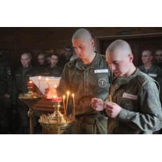 4 мая 2019. Пасха в дисциплинарном батальоне.