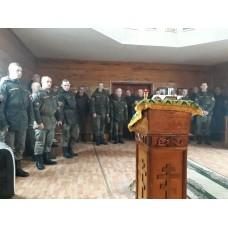 5 мая 2019. Посещение дисциплинарного батальона Мулинского гарнизона.