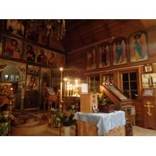 5 декабря 2018. Ильиногорск. Молебен перед мощами святых.