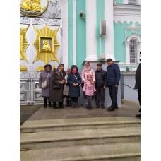 5 декабря 2019. Паломничество в Дивеево.