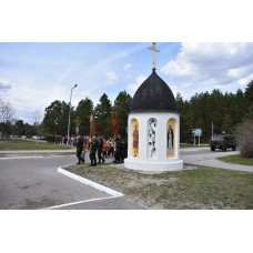 6 мая 2021. Престольный праздник в Георгиевском храме п. Мулино.