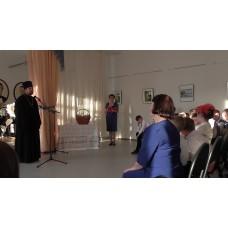 7 мая 2018. Священник посетил музыкальную школу.