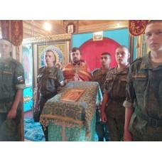 7 августа 2020. Воины почтили память святых Бориса и Глеба.