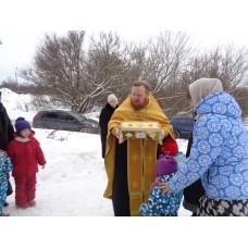 8 января 2019. Пребывание святых мощей в Благовещенском округе.