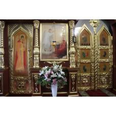 8 марта 2019. Праздник Благовещения в Благовещенском храме.