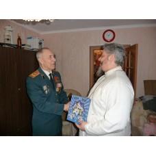 9 января 2019. Новосмолинский. Поздравление ветеранов с Рождеством Христовым.