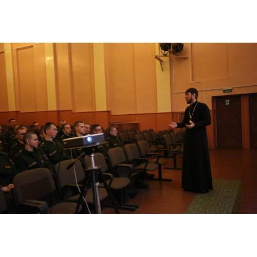 9 января 2019. Смолино. Рождественская встреча с военнослужащими.