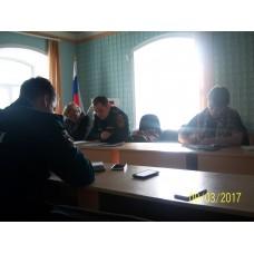 9 марта 2017. Священник принял участие в работе районного совещания.