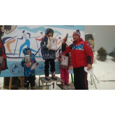 9 марта 2021. Сноведь. Жители Центрального участвуют в лыжных гонках.