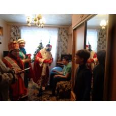 10 января 2018. Ильиногорск. Поздравления детей-инвалидов.