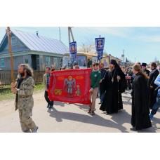 11 мая 2018. Царский крестный ход «За жизнь и семью - 2018» встретили в Выксунской епархии.