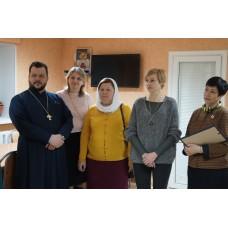 15 февраля 2017. Открытие нового гуманитарного склада в социальном центре «Покров» г. Дзержинск.