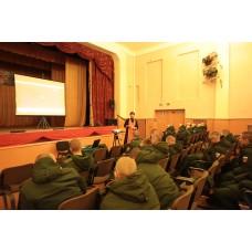 15 мая 2019. Смолино. Демонстрация фильма солдатам.