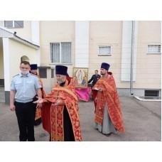 17 мая 2021. Володарск Молебен в РОВД.