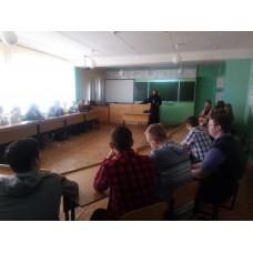 17 марта 2017. Разговор со старшеклассниками в Володарске.