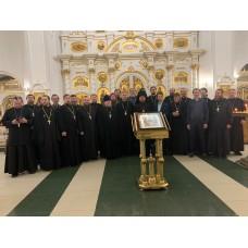 17 ноября 2019. Сборы военного духовенства.