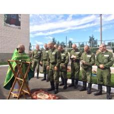 18 июля 2017. Престольный праздник в войсковой части.