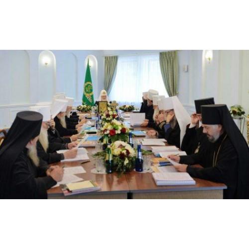 18 октября 2018. Заявление Священного Синода Русской Православной Церкви.