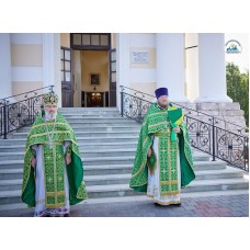 20 июля 2021. В Выксе почтили память небесного покровителя города преподобного Варнавы Гефсиманского.
