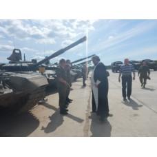 20 июня 2018. Новосмолинский. Освящение боевой техники.