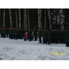 22 февраля 2017. День Защитника Отечества в Смолино.