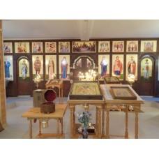 22 декабря 2019. Новосмолинский, Ильиногорск. Пребывание святых мощей в храмах.