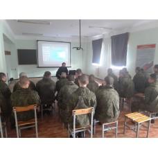 24 апреля 2017. Беседа в воинской части по Основам православной веры.