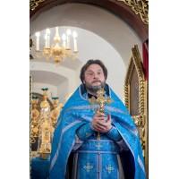 24 ноября 2020. Епископ Варнава поздравляет иерея Валентина Маркова.