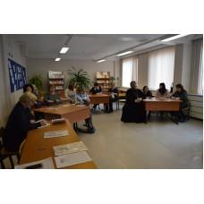25 апреля 2019. Семинар в школе п. Новосмолинского.