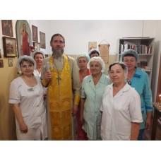 25 июня 2019. Мулино. Молебен в военном госпитале.