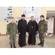 26 марта 2018. Священники провели профилактическую беседу с военнослужащими.