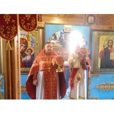 27 апреля 2018. Мулино. Соборное богослужение в войсковой части.