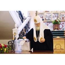 29 июня 2020. Патриарх Кирилл принял участие в голосовании по поправкам к Конституции Российской Федерации.