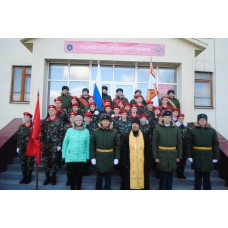 31 октября 2018. Центральный Присяга юнармейцев.