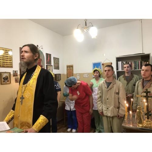 31 декабря 2018. Мулино. Молебен в военном госпитале.