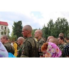 5 августа 2017. Епископ Варнава посетил военную часть 20 полка радиохимбиозащиты в поселке Центральный.